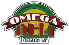 Omega Deli and Cheese Logo